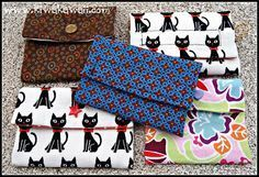 Carteras con tutorial Easy Sewing Projects, Sewing Hacks, Clutch Wallet, Pouch, Diy Coin Purse, Patchwork Tutorial, Stationary School, Diy Tutorial, Purses And Bags
