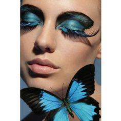 Butterfly effect beautiful makeup