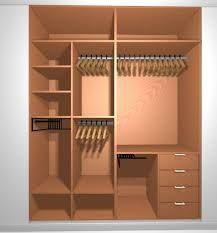 Resultado de imagen de organizacion de armarios empotrados