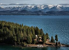 Flathead Lake, Montana  Largest freshwater  lake West of the Mississippi.