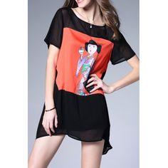 Рисунок печати цвет блока платье  #Рисунок #печати #цвет #блока #платье