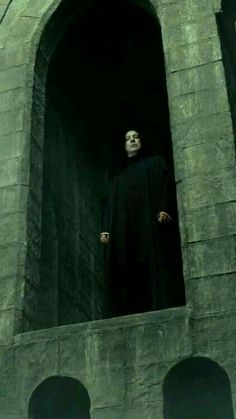 Severus Snape -- At the beginning of this movie, you see Snape, but you can hear a woman singing in the background. I always say that it's Snape singing. Severus Snape Always, Snape Harry Potter, Professor Severus Snape, Harry Potter Severus Snape, Severus Rogue, Alan Rickman Severus Snape, Harry Potter Love, Harry Potter Fandom, Harry Potter Universal