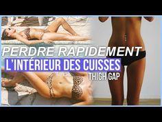EXERCICES POUR PERDRE RAPIDEMENT L'INTERIEUR DES CUISSES. - YouTube