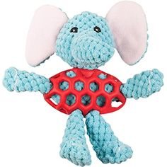 Dog Plush Toys Squeaky Toys Puppy Dog Biting Chew Toys with Sound for Dogs Chewing Training(Elephant) ** Visit the image link more details. (This is an affiliate link) Toy Puppies, Pet Puppy, Dogs And Puppies, Dog Items, Love Pet, Pet Toys, Animals And Pets, Elephant, Plush