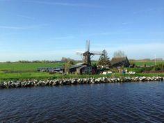 Cruise past windmills