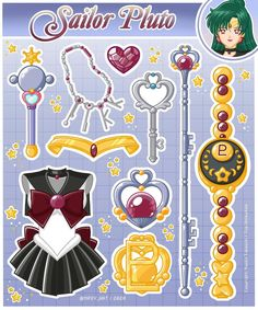 Sailor Pluto, Sailor Jupiter, Sailor Mars, Sailor Moon Tumblr, Sailor Moon Art, Sailor Moon Crystal, Sailor Moon Drops, Funko Pop Anime, Sailor Moon Wallpaper