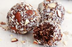 Chocolate Coconut Almond Balls