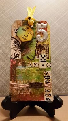 Kay Wallace:  art journaling: 12 TAGS OF 2015:  MARCH