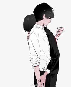 Sad Anime, Cute Anime Boy, Anime Guys, Anime Art, Fanarts Anime, Anime Characters, Aesthetic Art, Aesthetic Anime, Kawaii