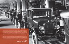 Henry Ford spread - M Financial Annual Report, 2012 #advertising