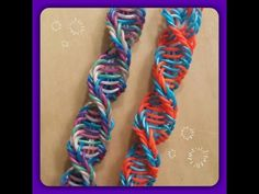 "New ""Helicoid"" Hook Only Rainbow Loom Bracelet/How To Tutorial - YouTube"