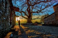 Small Papigo village...Epirus,Greece