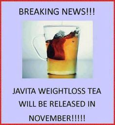 Breaking News: Awesome for all you Tea lovers! Same quality ingredients....All natural & completely safe.