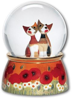 I loved this snow globe. And, if I used it to clock someone on the head, they might not be able to rape me. --Gwen