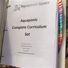 Aquaponic Complete Curriculum Set - Would love to get this later down the road