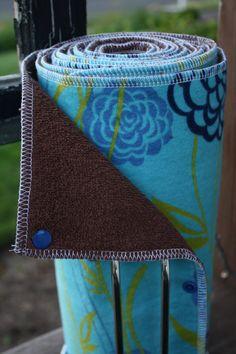 Ramona Blue ~ Reusable Paper Towels (Unpaper Towels)