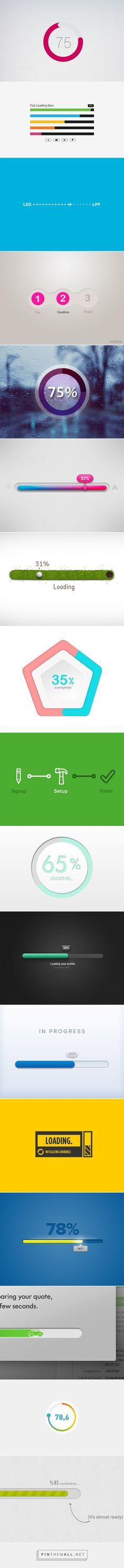 Loading Bar Designs - created via https://pinthemall.net