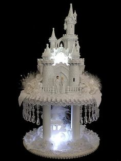Cakes, Fairytale Wedding Cakes Crystal: Realizing the Childhood Dreams with Fairy Tale Wedding Cakes