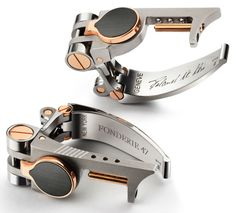 Fonderie 47 Transforming Cufflinks By Roland Iten