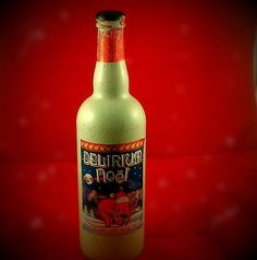 Delirium-Noel- Belgium-  Flavor: A strong presence of alcohol, very spicy, slightly bitter. The aftertaste is sweet, spicy and slightly bitter.