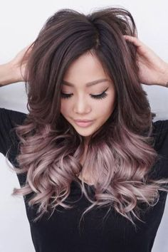 60 Sweet Mauve Hair Color Ideas, You Should Try This Year 35