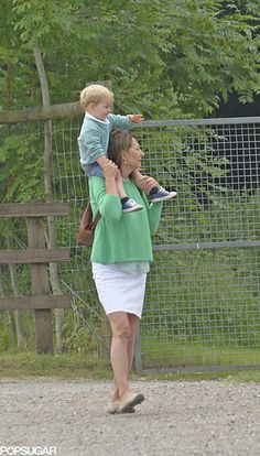 Exclusive: Prince George Spends a Sweet Day With His Grandma Carole Middleton!