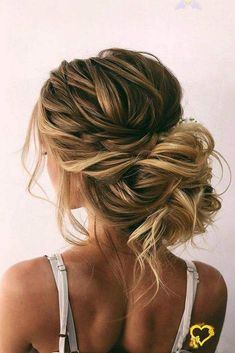 Messy Wedding Updo, Romantic Bridal Updos, Bridal Hair Updo, Braided Hairstyles For Wedding, Short Hair Updo, Bride Hairstyles, Down Hairstyles, Indian Hairstyles, Wedding Hairstyles Half Up Half Down