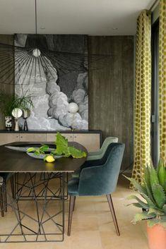 7 Velvet Dining Rooms That You Will Covet dining room chairs 7 Velvet Dining Room Chairs That You Will Covet velvet1