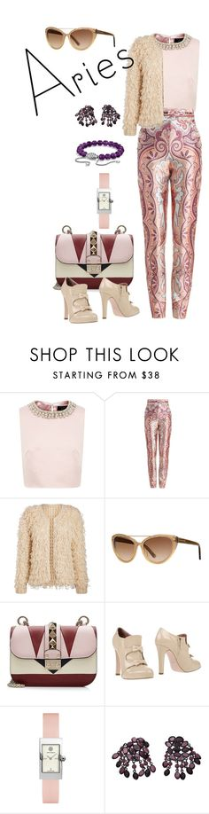 """Aries Style"" by dion-allen322 on Polyvore featuring Ted Baker, Zimmermann, Tom Ford, Valentino, RED Valentino, Tory Burch, David Yurman and whatsyoursign"