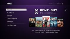 The movie and TV show shortcuts powered by M-GO will be available in the U.S. on the new Roku LT, Roku 1 and Roku 2 players, and will automa...