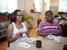 My Sister's Place Women's Center | provides 3 meals a day and access to services such as case management, education, and job training to women in Baltimore City. http://www.catholiccharities-md.org/my-sisters-place/