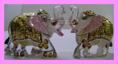 ELEPHANT PAIR IN CRYSTAL... CONTACT- SANJAY LODHA JAIN'S BHAWISHYA ASTRO RESEARCH CENTER {BARC} 17,SHOPPING CENTER,GAUTAM NAGAR, BHOPAL-462023-M.P [INDIA} WEB-WWW.JEWELSASTRO.COM / BARCPRODUCTS.COM MAIL-SANJAYONLINE08@GMAIL.COM/REDIFFMAIL.COM CALLS-0755-4272687,09752162785 WHATS APP-7389897140
