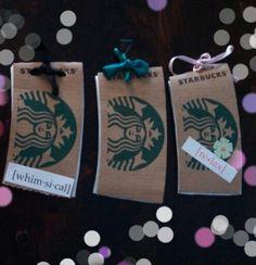 #Starbucks #coffee sleeve #craft