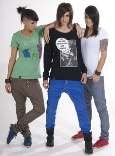 shoes, pants, shirts - njulezz all over <3 _ fashion for lesbians & friends