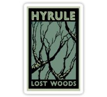 HYRULE LOST WOODS - Gaming Luggage Labels Series Sticker by A.J.  Hateley