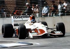 Michele Alboreto (ITA) (Footwork Grand Prix International), Footwork FA13 - Mugen Honda MF-351H 3.5 V10 (RET)  1992 Australian Grand Prix, Adelaide Street Circuit
