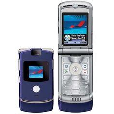 motorola flip phone 2005. motorola razr v3 - circa 2005. cool flip phone with a space age keypad. 2005