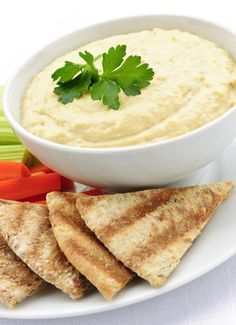 Can't stop snacking? Switch it up with Skinny Buffalo Hummus and get other tips to refresh your diet!