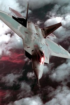 "The baddest fighter jet out there ""The Raptor"""