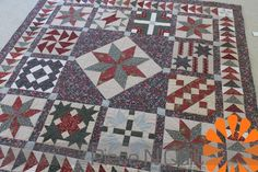 block of month quilts | Piece N Quilt: Block of the Month Quilt | Quilts ~ Blocks | Pinterest