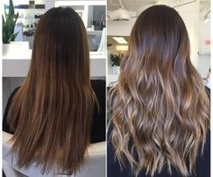"C O L O R B Y B A I L E Y on Instagram: ""Before & After: blended with balayage"""
