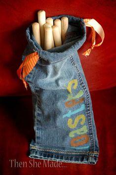 107 besten jeans bilder auf pinterest blaue jeans denim handwerk und jeans tasche. Black Bedroom Furniture Sets. Home Design Ideas