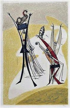 Max Ernst~ Rhytmes 1950