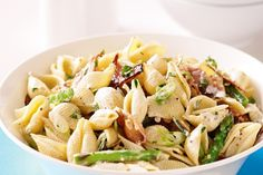 This tasty pasta salad is perfect to whip up for unexpected visitors.