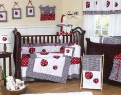 Lady Bug Baby Nursery