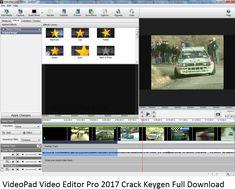 VideoPad Video Editor Pro 2017 Crack Keygen Full Download