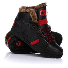 Мне нравится Кеды зимние Osiris Nyc 83 Shr Black/Red/Black (5130р.) на... ❤ liked on Polyvore featuring shoes