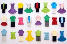 origami wardrobe