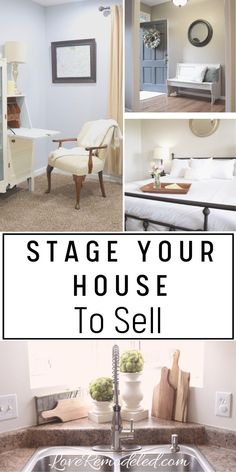 Staging a house is so important to getting a quick sale - for the best price possible.  Check out these staging tips so that you can sell your home now! #sellyourhouse #staging #stagingtips