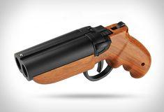 Double-Barrel Paintball Pistol | Image